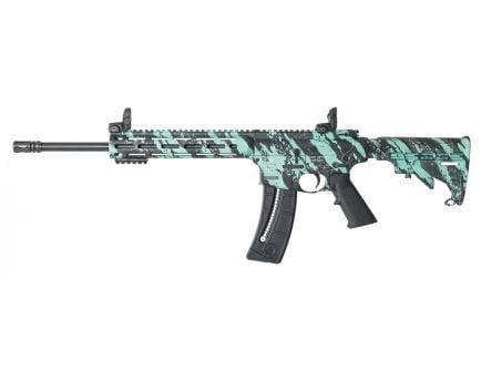 Smith & Wesson M&P 15-22 Sport .22 LR Rifle, Robin's Egg Blue Platinum - 12066
