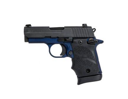 "Sig Sauer P938 9mm 7rd 3"" Black/Navy Pistol w/ Night Sights - 938-9-NBF-AMBI"