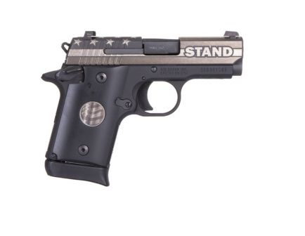 """Sig Sauer P938 """"STAND"""" Micro-Compact 9mm Pistol - 938-9-STAND-AMBI"""