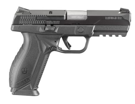 Ruger American 9mm 10-Round Pistol, Black - 8607