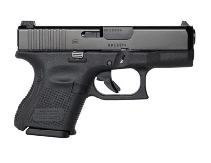 Glock 26 Gen 5 9mm Pistol with Night Sights, Black - UA2650701