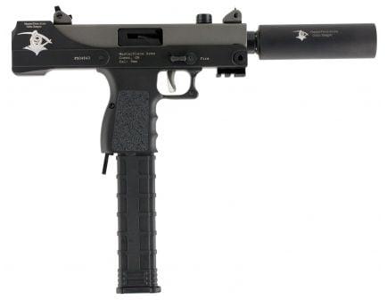 Masterpiece Arms Defender 9mm 30+1 Round Pistol, Black Cerakote - MPA30TGR