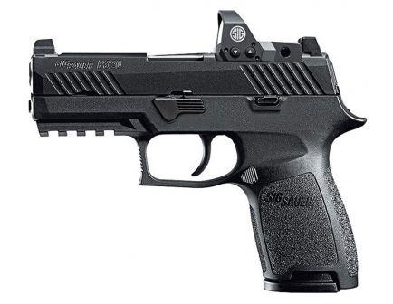 Sig Sauer P320 RX Compact 9mm 15 Round Semi Auto Striker Fire Pistol, Stainless - 320C-9-B-RX