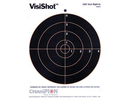 "Champion VisiShot 8"" Bullseye Target, 10 Pack - 45802"