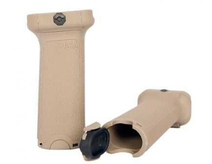 Bravo Company Mfg Vertical Grip for AR-15 Rifle, Flat Dark Earth - GFVGFDE