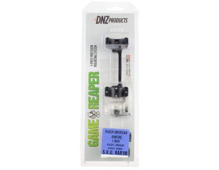 DNZ Game Reaper Ruger American Rimfire 1 inch Medium Aluminum Precisioned Scope Tube, Matte Black - RAR1M