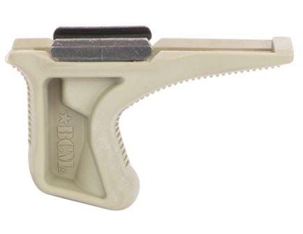 Bravo Company Mfg Picatinny 1913 Rail Version Angled Grip for Real M4/M16/AR15 Rifles, Flat Dark Earth - BCM-KAG-1913-FDE