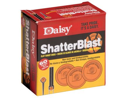 """Daisy Outdoor Products ShatterBlast 2"""" Breakable Target, Orange, 60/pack - 990873-406"""