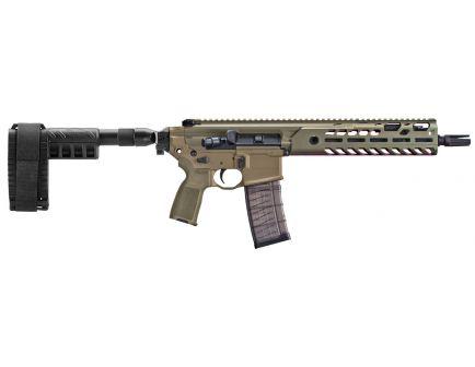 Sig Sauer MCX Virtus 5.56 NATO 30 Round Semi Auto Gas Operated Pistol, Flat Dark Earth - PMCX-11B-TAP-FDE