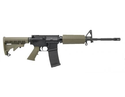 "PSA PA-15 16"" M4 Phosphate 5.56 NATO 1/7 Classic Rifle, Olive Drab Green"