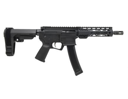 "PSA AR-V 8"" 9mm 1/10 Lightweight M-Lok MOE EPT SBA3 Pistol"