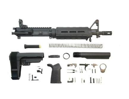 "PSA 10.5"" Carbine-Length 5.56 NATO 1/7 Phosphate MOE SBA3 Pistol Kit w/MBUS Rear"