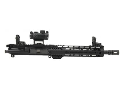"PSA 10.5"" 5.56 NATO 1/7 Phosphate 9"" Lightweight M-Lok Upper With Romeo MSR, MBUS Sight Set, BCG, & CH"