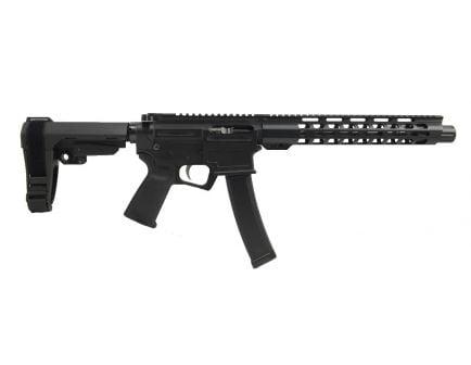 """PSA AR-V 10.5"""" 9mm 1/10 Slant-End Lightweight M-Lok MOE EPT SBA3 Pistol"""