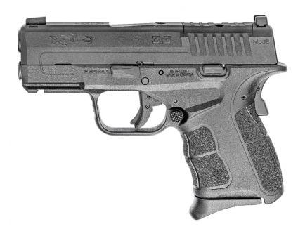 Springfield Armory XDs Mod2 OSP 9mm Pistol, Black - XDSG9339BOSP