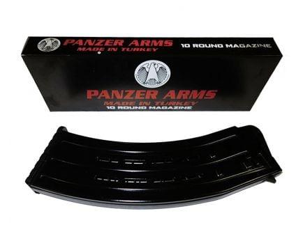 Panzer Arms 10rd 12 Gauge Magazine, Black - PA10RM