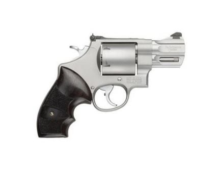 Smith & Wesson Performance Center Model 629 Large .44 Mag Revolver, Silver - 170135