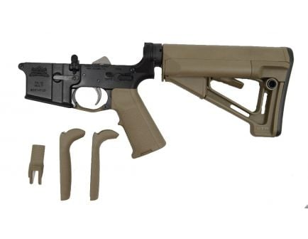 PSA AR-15 Complete Lower - Magpul STR EPT MIAD Edition - FDE, No Magazine