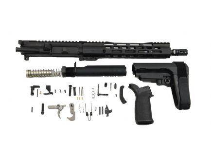 """PSA 11.5"""" 5.56 1/7 Phosphate 10.5"""" Lightweight M-Lok MFT SBA3 Pistol Kit"""