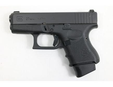 """Glock 27 Gen4 .40 S&W Pistol 9rd 3.42"""" FXD, USED- PG2750202-U"""