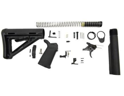 PSA AR15 MOE SSA-E Lower Build Kit, Black