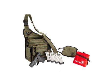 S&W M&P Shield 9mm Pistol w/ Bug Out Bag  & 5 Magazines