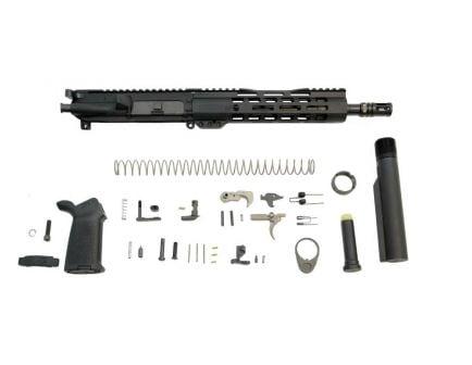 "PSA 10.5"" 5.56  NATO 1/7 Phosphate 9"" Lightweight M-Lok MOE EPT Pistol Kit"