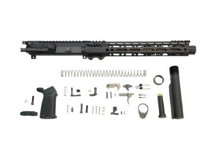 """PSA 10.5"""" Carbine-Length 5.56 NATO 1/7 Nitride 12"""" Slant M-Lok MOE EPT Pistol Kit"""