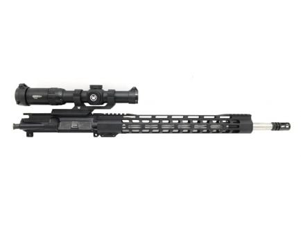 "PSA 18"" Rifle Length 223 Wylde 1/7 Stainless Steel 15"" Lightweight M-lok Upper With Vortex Strike Eagle 1-6x24mm Gen2 Scope - No BCG or CH"