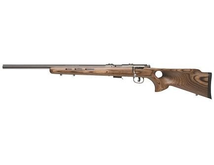 Savage Arms 93R17 BTVLSS LH 17 HMR 5 Round Bolt Action Rimfire Rifle, Thumbhole - 96210