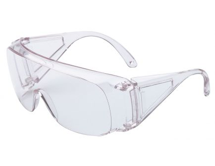 Howard Leight HL100 Shooter's Wraparound 1-Piece Safety Eyewear, Clear Lens, 4/case - R-01701