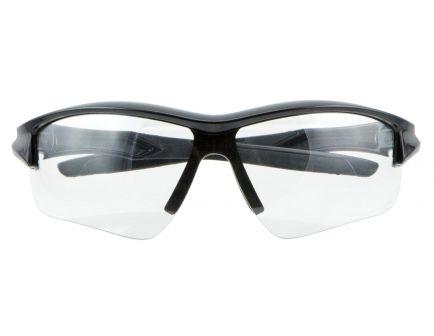 Howard Leight Acadia Shooter's Wraparound Anti-Fog Safety Eyewear, Clear Lens, 4/case - R-02214