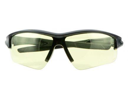 Howard Leight Acadia Shooter's Wraparound Anti-Fog Safety Eyewear, Amber Lens, 4/case - R-02215