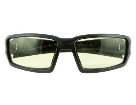 Howard Leight Hypershock Shooter's Wraparound Anti-Fog Safety Eyewear, Amber Lens - R-02221