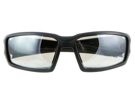Howard Leight Hypershock Shooter's Wraparound Scratch-Resistant Safety Eyewear, SCT-Reflect 50 (I/O) Lens, 4/case - R-02222