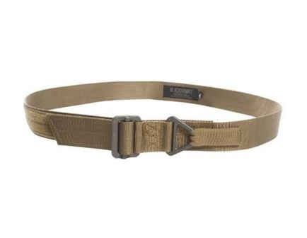 Blackhawk! CQB Coyote Tan Nylon Rigger's Belt, Size Medium