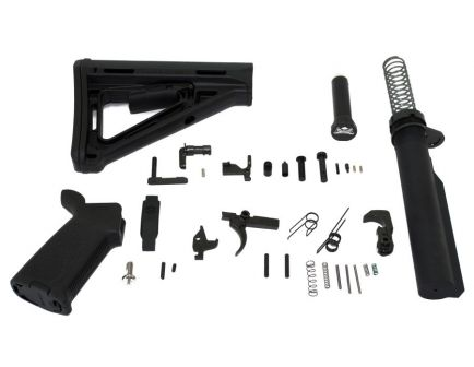 Palmetto State Armory Magpul AR-15 Lower Build Kit in Black