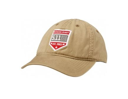 5.11 Tactical Mission Ready Cap, Coyote
