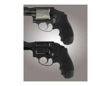 Hogue Tamer Grip for Smith & Wesson Centennial, Bodyguard Black Rubber 60020