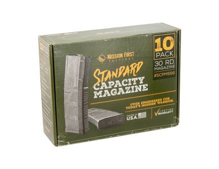 MFT 10 Pack of Magazines - SCPM556BAG10PK-BL