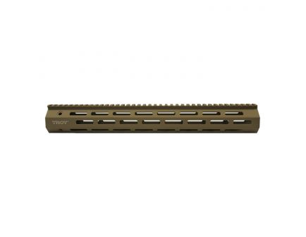 "Troy M-LOK 5.56 Aluminum 15"" Rail Section, FDE"