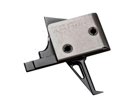 CMC Triggers AR-15 Duty Patrol Single Stage Flat Trigger 5.5LB, Matte Black