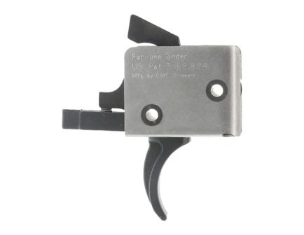 CMC Triggers AR-15 Match Grade Two Stage Curved Trigger 1LB/3LB, Matte Black