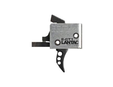 CMC Triggers AR-15/AR-10 Lantac E-CTI Single-Stage Curved Trigger, Black (3.5lb)