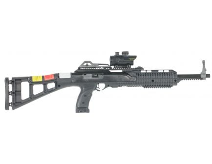 Hi-Point 995TS Carbine RD 9mm Luger 10 Round Semi Auto Rifle with Red Dot Scope, Skeletonized - 995RDTS