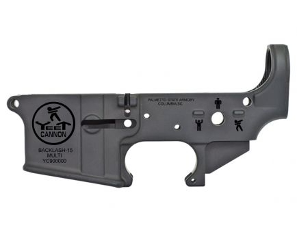 "PSA AR-15 ""Yeet Cannon"" Stripped Lower Receiver *Preorder Item (4-6 Weeks Delivery)"