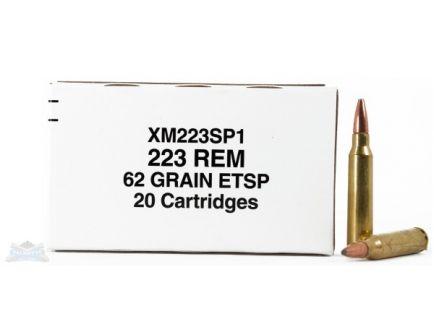 Federal 223 62gr Bonded Spoft Point Ammunition 20rds - XM223SP1