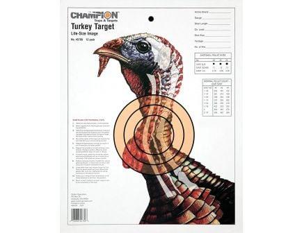 Champion Life-Size Turkey Shotgun Target, 12 Pack - 45750