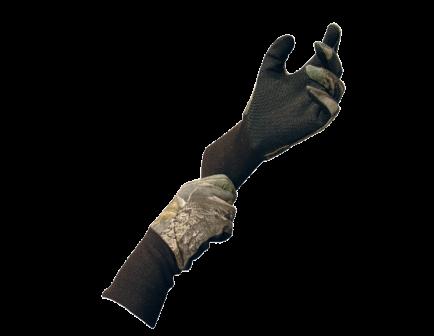 Primos Cotton Gloves with Sure-Grip, MOBU - 6392