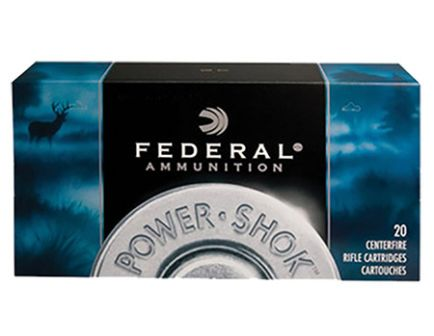 Federal 6.5x55 Swedish 140gr SP Moly Coat Power-Shok Ammunition 20rds - 6555B